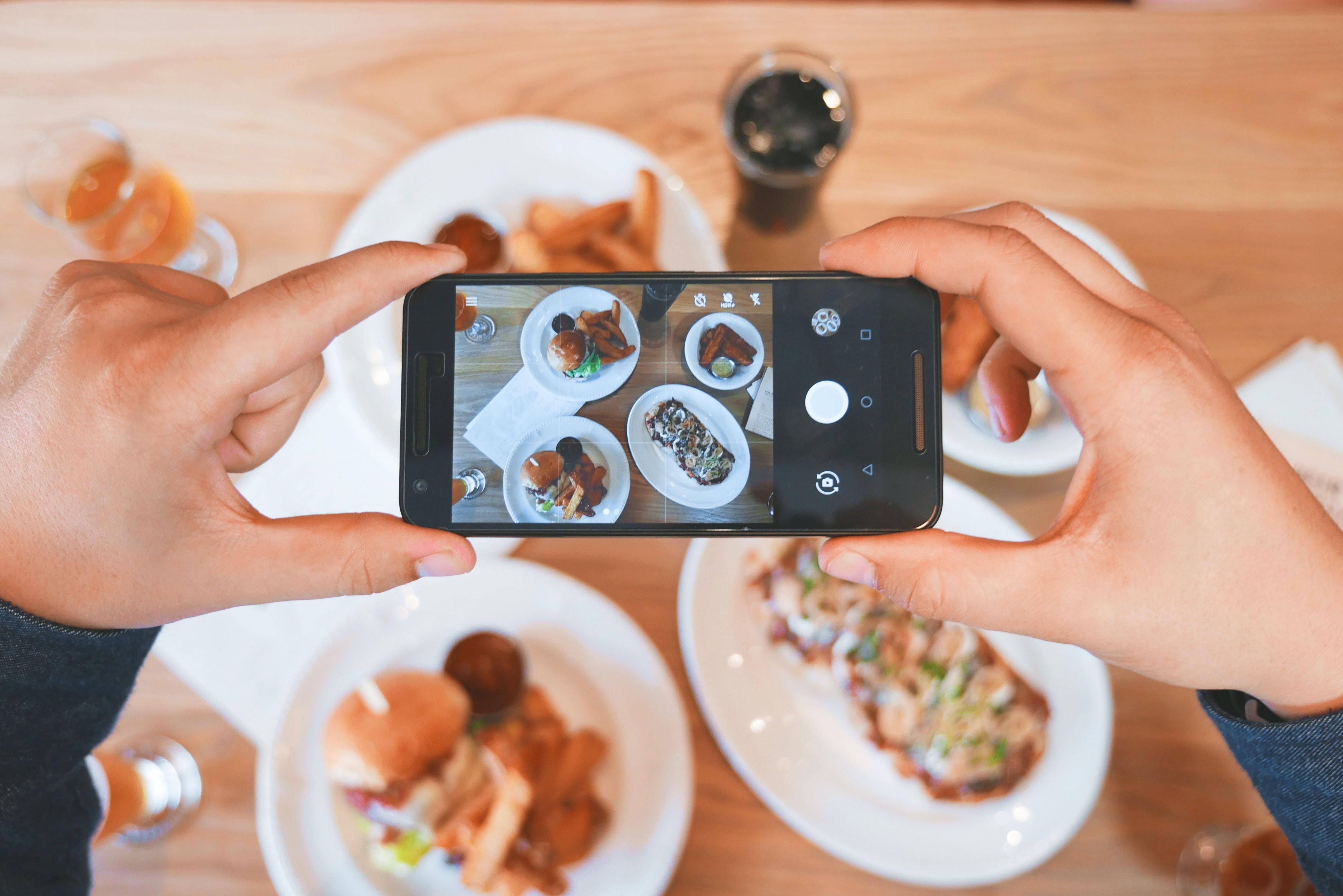 Instagram restaurant photography marketing